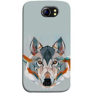 FUSON Designer Back Case Cover for Micromax Canvas 2 A110Q  :: Micromax A110Q Canvas 2 Plus :: Micromax Canvas 2 A110 (Multicolour Dogs Perfect Look King Bird Night Tree)