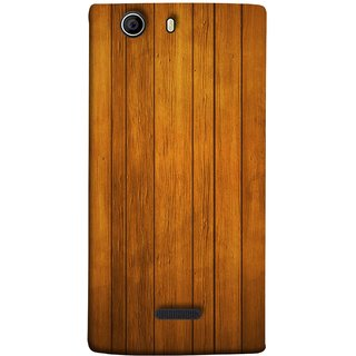 FUSON Designer Back Case Cover for Micromax Canvas 5 E481 (Unique Wooden Pine Background Vintage Table Tiles)