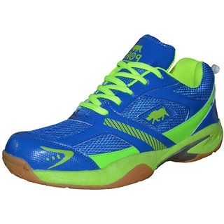Port Mens Python Blue Pu Running Sports Shoes