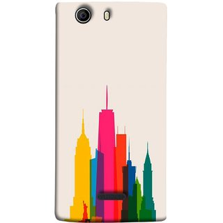 FUSON Designer Back Case Cover for Micromax Canvas 5 E481 (Designs Have Emerged From Different Parts Of The World)