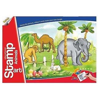 Buy Ratna's Toyztrend Educational Art & Craft Stamp Art ...