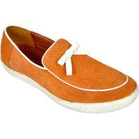 Allen Cooper Felix Tan Men'S Leather Casual Shoes
