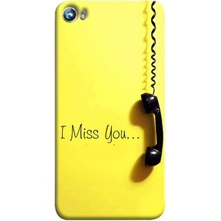 FUSON Designer Back Case Cover for Micromax Canvas Fire 4 A107 (Always I Love You Red Hearts Couples Together Valentine)
