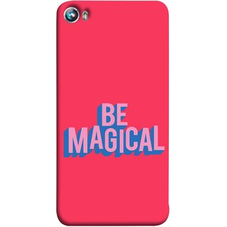 FUSON Designer Back Case Cover for Micromax Canvas Fire 4 A107 (Wand Magically Make Differnece To Others Life )