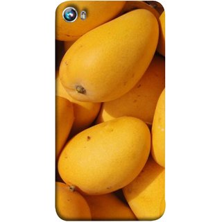 FUSON Designer Back Case Cover for Micromax Canvas Fire 4 A107 (Jungle Sweet Villages Fruits Hapoos Langda )
