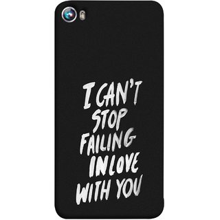 FUSON Designer Back Case Cover for Micromax Canvas Fire 4 A107 (Best Quotes Love Words Always Happy Together)