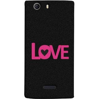 FUSON Designer Back Case Cover for Micromax Canvas 5 E481 (Love Life Forever Hearts Real Love True Lovers Valentine)