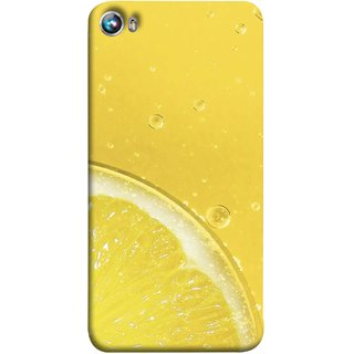 FUSON Designer Back Case Cover for Micromax Canvas Fire 4 A107 (Farm Fresh Fruits Lemons Fresh Juicy Beer Pitcher )