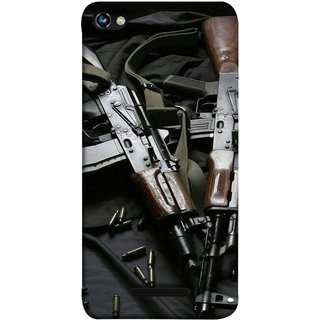 FUSON Designer Back Case Cover for Micromax CanvasHue2A316 (Ammunition Bullets Guns Machine Murders War )