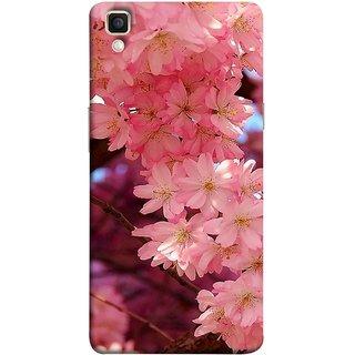FUSON Designer Back Case Cover for Oppo F1 Plus :: Oppo R9 (Flowering Cherry Trees Pink Perfection Lovely Love )