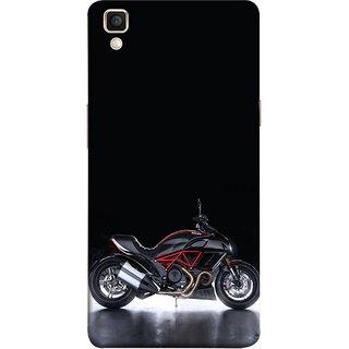 FUSON Designer Back Case Cover for Oppo F1 Plus :: Oppo R9 (Tour Bike Gear Patrol Yamaha Motorbikes And Super Bikes)