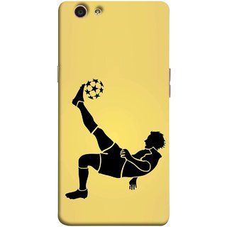 FUSON Designer Back Case Cover for Oppo F1s (Uefa Champions League Starball Player Fifa )