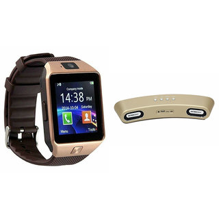 Zemini DZ09 Smart Watch and Gibox G6 Bluetooth Speaker for GIONEE ELIFE E8(DZ09 Smart Watch With 4G Sim Card, Memory Card| Gibox G6 Bluetooth Speaker)