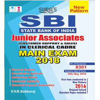 SBI Junior Associates ( Customer Support  Sales ) Clerical Cadre Main Exam Books