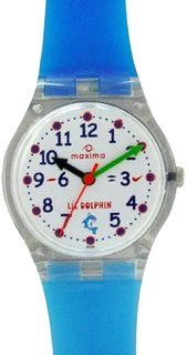 Maxima Analog White Dial Children's Watch - 04424PPKW