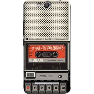 FUSON Designer Back Case Cover for Micromax Canvas Juice 3 Q392 (Vintage Alabama Theatre St Paul The Broken Bones )