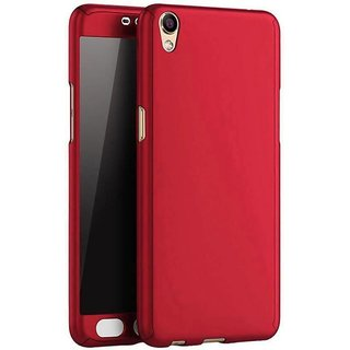 Ipaky 360 Degree All-round Protective Slim Fit Front And Back Case Cover for Oppo