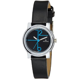 Maxima Analog Black Dial Womens Watch-41313LMLI