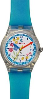 Maxima Analog White Dial Children's Watch - 04429PPKW