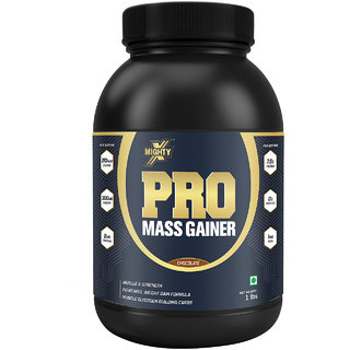 MightyX Pro Mass Gainer Chocolate 1 lb 9 Servings