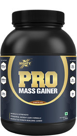 MightyX Pro Mass Gainer Chocolate, 1 Kg, 20 Servings