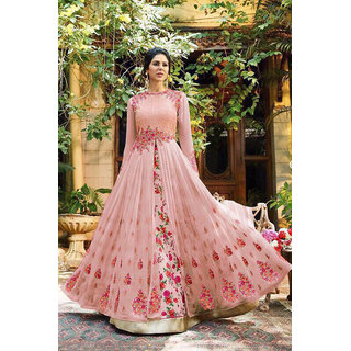 02bd8144710f3 Buy Ethnic Empire New LAtest Hevy Designer Party Wear Long Gown ...