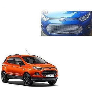 Front Stylish Chrome Silver Color Grill For Ford Ecosport Of  Pcs