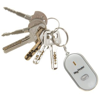 Best Deals - LED Key Finder Locator Lost Keys Chain Key chain Anti-Lost Whistle.