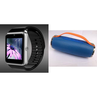 Mirza GT08 Smart Watch and Mini Xtreme K5 + Bluetooth Speaker for VIVO y31a(GT08 Smart Watch with 4G sim card, camera, memory card |Mini Xtreme K5 +  Bluetooth Speaker  )