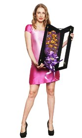 Valentine Gift 24K Gold 11 Roses Bouquet With Gift Box (21 Inches)