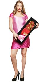 Valentine Gift 24K Gold 11 Roses Bouquet With Gift Box