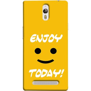 FUSON Designer Back Case Cover for Oppo Find 7 :: Oppo Find 7 QHD :: Oppo Find 7a :: Oppo Find 7 FullHD :: Oppo Find 7 FHD (Big Smiley Smiling Positive Wallpaper Back Cover)
