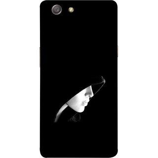 FUSON Designer Back Case Cover for Oppo Neo 5 :: Oppo A31 :: Oppo Neo 5S 2015 (Lover Girly Lady Women Fashion Female With Burkha )