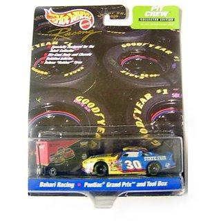 Hot Wheels Racing Pit Crew Collector Edition Bahari Racing # 30 Pontiac Grand Prix