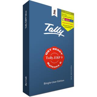 Tally.ERP9 GST Ready Silver (Single User)