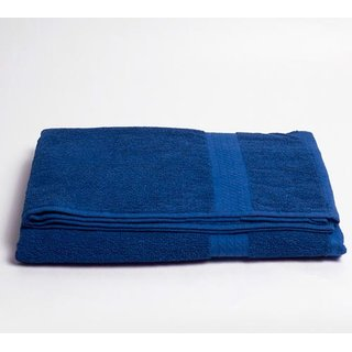 Indio cotton bath towel in blue color