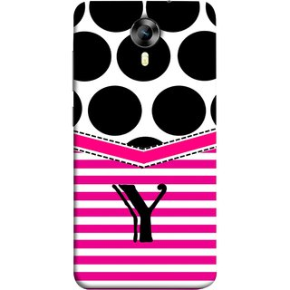 FUSON Designer Back Case Cover for Micromax Canvas Xpress 2 E313 (Beautiful Cute Nice Couples Pink Design Paper Girly)