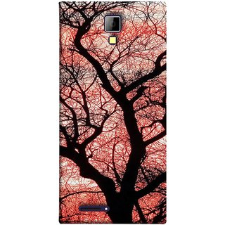 FUSON Designer Back Case Cover for Micromax Canvas Xpress A99 :: Micromax A99 Canvas Xpress (Trees Gardens Big Old Jungle Branches Birds Singing)