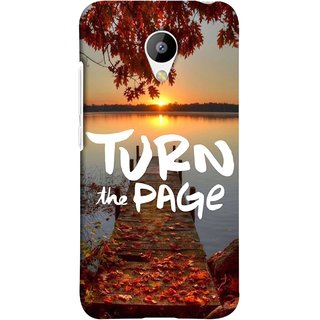 FUSON Designer Back Case Cover for Meizu M3 (Nice Good Morning Sunshine Rise Lake Shore )