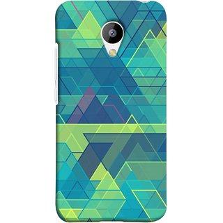 FUSON Designer Back Case Cover for Meizu M3 (Hexagonal Shape Abstract Pattern Geometric Shapes )