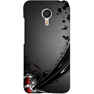 FUSON Designer Back Case Cover for Meizu M3 Note :: Meizu Note 3 (Red Bubbles Unique Whimsical Fantasy Fine Art Spots)