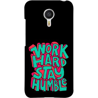 FUSON Designer Back Case Cover for Meizu M3 Note :: Meizu Note 3 (Motivational Inspirational Words Quotes Worklife)
