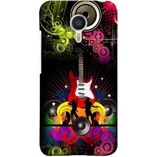 FUSON Designer Back Case Cover for Meizu M3 Note :: Meizu Note 3 (Abstract Colorful Music Dance Background Design )