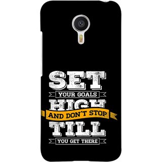 FUSON Designer Back Case Cover for Meizu M3 Note :: Meizu Note 3 (Till You Get There Dream Big And Achieve Big )