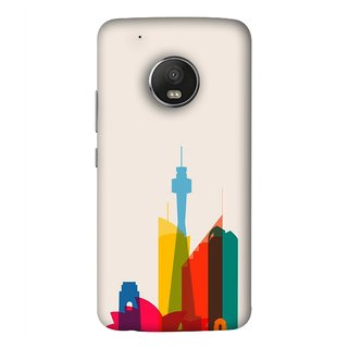 FUSON Designer Back Case Cover For Motorola Moto G5 Plus (Industrial Best Wallpaper Design India America Asia Uae)