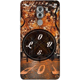 FUSON Designer Back Case Cover For Huawei Honor 6X (Love Everywhere Stay Long Life Always Road Lovers )