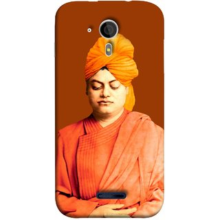 FUSON Designer Back Case Cover for Micromax Canvas Magnus A117 :: Micromax A117 Canvas Magnus (Devotion Quotes Of Swami Equated Raja Yoga Spirit)