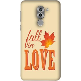 FUSON Designer Back Case Cover For Huawei Honor 6X (Deep Love Pure And Real True Partner For Life Special )