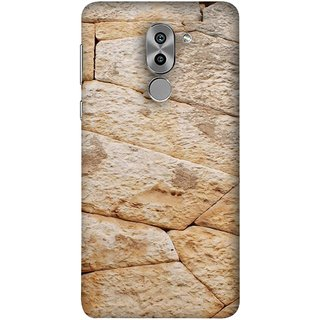 FUSON Designer Back Case Cover For Huawei Honor 6X (Irregular Shapes Ancient Different Sizes Wallpaper)