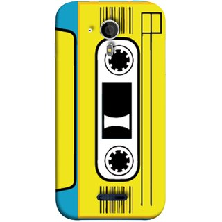 FUSON Designer Back Case Cover for Micromax Canvas Magnus A117 :: Micromax A117 Canvas Magnus (Tape Cassette Black Film Screws Old Player)